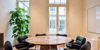 Coworking Amsterdam Fosbury and Sons - meeting rooms - garden room