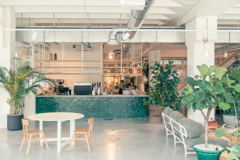 Restaurant and bar - Coworking Brussels - Fosbury and Sons Alfons